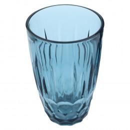 Jogo de 6 Copos Glasgow em Cristal Azul - 355ml 13cm