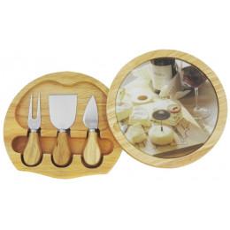 Kit para Queijo Camembert com Espatula e Utensilios