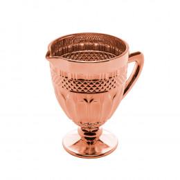 Jarra Brand Rose Metalizado - 19,9x19,5x14cm