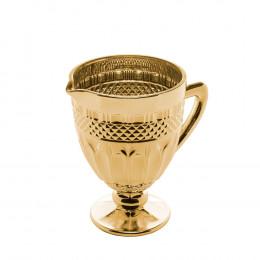 Jarra Brand Dourado Metalizado - 19,9x19,5x14cm