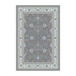 Tapete Persa Kashmar Cinza - 0,80x3,50cm