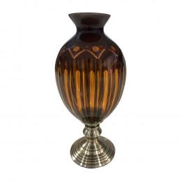 Vaso Decorativo Âmbar - 20x20x45cm