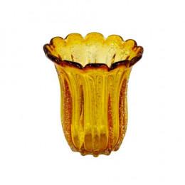 Vaso em Murano Âmbar - 22x19cm