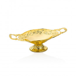 Doceira Oval Ouro - 15,5x27cm