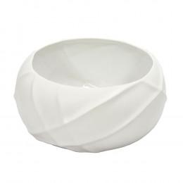 Bowl Decorativo em Cerâmica Branco - 12cm