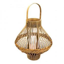 Luminária de Fibras Naturais - 57x38cm
