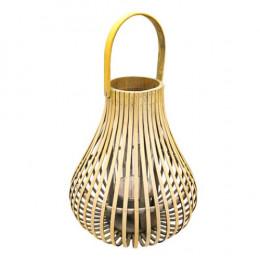 Luminária de Fibras Naturais - 43,5x26cm
