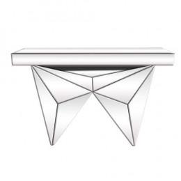 Aparador Espelhado Estilo Moderno Glass Abstract - 80x120x36cm