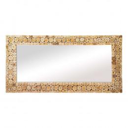 Espelho com Moldura em Madeira - 243x121cm
