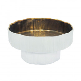 Bowl Decorativo Branco - 15x32cm