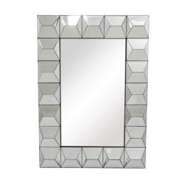 Espelho Decorativo Estilo Veneziano Moderno - 104x74x74cm
