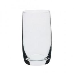 Jogo de 6 Copos Long Drink em Cristal Ecológico - 380ml A13cm