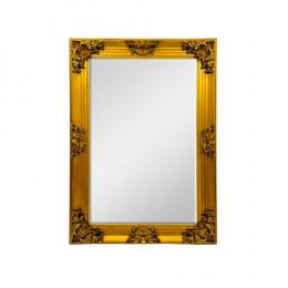 Espelho com Moldura em Resina Dourado - 107x77x08cm