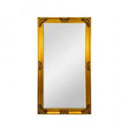 Espelho com Moldura em Resina Dourado - 180x100x08cm