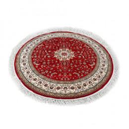 Tapete Persa Vermelho Floral - 200x200cm