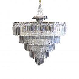 Lustre Clássico em Cristal 65x65cm