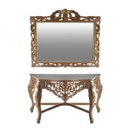 Aparador Clássico com Espelho - 95x181x64