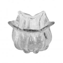 Bowl Decorativo em Murano Incolor - 12x17cm
