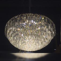 Lustre Clássico em Cristal 85 x 80 cm