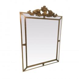 Espelho Clássico Folheado a Ouro - 113x80x5,5cm