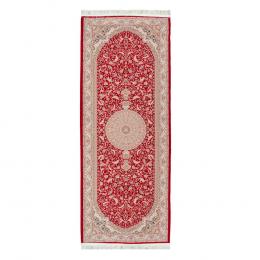 Passadeira Iraniano Beluchi na Cor Vermelha - 300x75cm