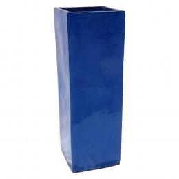 Cachepot em Cerâmica Azul 95 cm x 33 cm