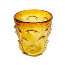 Vaso Decorativo em Murano Âmbar - 16x14cm