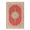 tapete-iraniano-beluchi-vermelho-com-detalhes-dourado-200x150cm