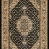 tapete-persa-tabriz-preto-e-bege-67x120cm