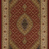 tapete-persa-tabriz vermelho-e-bege-160x235cm