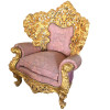 Jogo-de-Sofá-Clássico-Luis-XV-Imperial-Rose-4-Poltronas-154x89x233cm