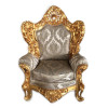 Jogo de Sofá Clássico Estilo Francês Imperial Folheado a Ouro