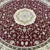 tapete-persa-kashmar-redondo-vermelho-com-bege-e-detalhes-em-preto-250x250cm