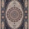 tapete-persa-tabriz-mahi-bege-com-detalhes-57x90cm