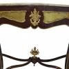 Aparador Clássico Royal Palace com Tampo em Mármore - 110x40x197cm