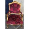 Jogo de Sofá Clássico Estilo Francês Luis XV