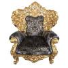 Jogo-de-Sofá-Clássico-Imperial-Preto-Folheado-a-Ouro-2-Poltronas-153x75x236cm