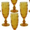 jogo-de-taças-flute-em-cristal-ambar-6-peças-18x6cm