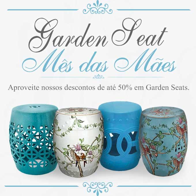 Promoção Garden Seats