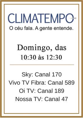 Mini Banner ClimaTempo